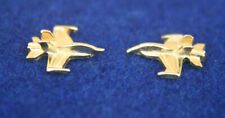 MINI F18 HORNET FIGHTER POST EARRINGS MADE IN US MARINES NAVY PIN UP GIFT MOM