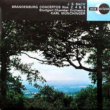 ECS 539 Bach Brandenburg Concerto 2 4 & 5 Munchinger DECCA Eclipse NM/EX