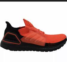 Adidas Ultra Boost 19 Solar Red Black Mens Size 9 Running Shoes G27131 NIB
