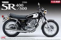 1:12 Scale Aoshima Yamaha SR400/500 '96 Model Kit #368p