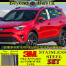 For 2013-2018 TOYOTA RAV4 8pc STAINLESS STEEL Pillar Posts Trims Overlay COVERS
