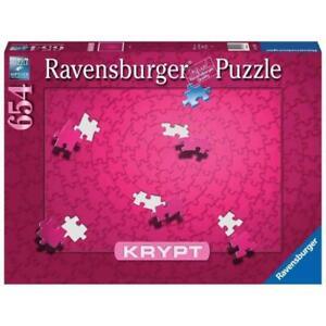 Ravensburger 16564-3 KRYPT Pink Spiral Puzzle 654pc Brand New
