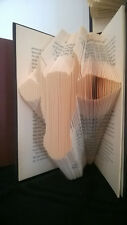 Cow Folded  Book Art Unique Modern art Interesting display for home or office