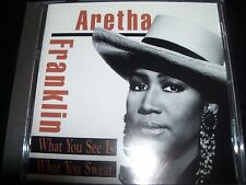 Aretha Franklin What You See Is what You Sweat CD – Like New