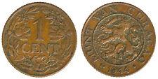 CURACAO 1 CENT 1944 D #5449A
