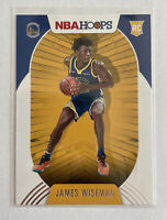 2020-21 Panini NBA Hoops James Wiseman Rookie Base Card RC #205 Mint Warriors