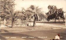 D2/ Avon Park Florida Fl Real Photo RPPC Postcard 1941 The Mall Street