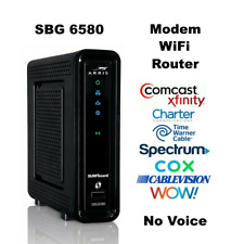 ARRIS SBG6580 DOCSIS3.0 Cable Modem WiFi Router COMCAST XFINITY COX TIME WARNER