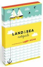 Land and Sea Notepads (2015, Record Book)