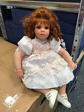 Denise Mc Millan Porzellan Puppe 70 cm. Top Zustand