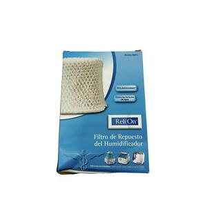 Reli On Replacement Humidifier Filter RWF2 NEW WA-8D For Cool Mist Humidifiers