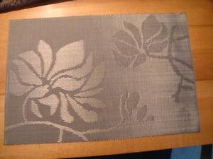 Table mats Bar Restaurant Table Mat Woven PVC set of 4 mats, Bulk available NICE