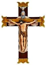 Holy Trinity Wall Cross Crucifix NEW! Father Son & Holy Spirit Christian Faith