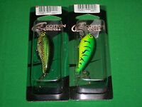 Cotton Cordell CRD Crankbait - Big O-Bass & Green Tiger (2 Pack)
