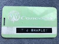 BAC Sud Aviation Concorde Issued for Prototype Flights  Luggage Tag 1973 Rare 2