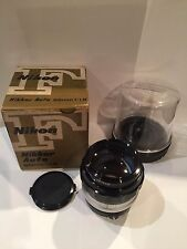 Nikon NIKKOR-H Auto 85mm F/1.8 Non-Ai Camera Lens w/BOX [Excellent] from Japan