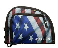 USA PATRIOTIC Flag HANDGUN CASE Fits 1 Pistol Magazine Carry Bag Lockable