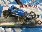 Tamiya 18091 1/32 Racing Mini 4WD VS JR MACH-BULLET VS Chassis w/ Painted Figure