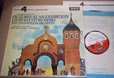 Stokowski MUSSORGSKY-STOKOWSKI Pictures at an Exhibition  Decca Phase 4 PFS 4095
