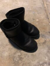 Australia Luxe Collective Cosy X Short Genuine Shearling Boot Black 8US 39EU