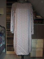 Chic Minimaliste !  La Petite Robe Ivoire Grafik LULU LOVE Taille XL (42) **NEUV