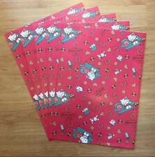 Sanrio 2007 Hello Kitty Holiday Room 5pc Paper Gift Bags