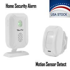 Wireless Motion Sensor Detector Doorbell Door Bell Gate Entry Chime Alert Alarm