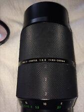 Pentax K Series Sigma High Speed Zoom 1:3.5 And HOYA Hmc 62mm Filter