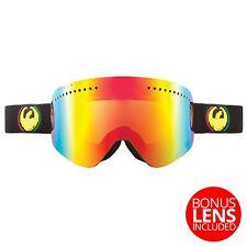 Dragon NFX Frameless Snow Goggles Rasta - Red Ionized + Yellow Blue Ion Lens