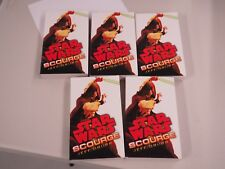 Star Wars Book New old Stock Lot of 5  Jeff Grubb Scourge 1st eds.