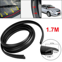 5.5ft Seal Strip Trim For Car Front Rear Windshield Sunroof Weatherstrip Rubber