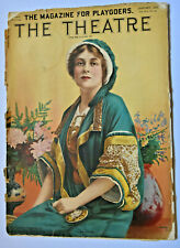 Vintage January 1913 THE THEATRE MAGAZINE Cover Miss MARY BOLAND