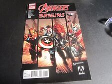 AVENGERS: ORIGINS GIVEAWAY  ADOBE VARIANT AWESOME AND UNIQUE !!!!