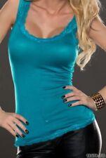 Camisa de mujer de viscosa/rayón talla M