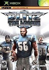 Blitz: The League  Football 2005 Xbox Live Online Enabled Game DVD new unopened
