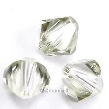 SWAROVSKI XILION CRYSTAL Element 5328 Bicone Bead AB Variable Color Size 3mm 4mm