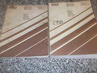 1982 Chrysler NEW YORKER Service Shop Repair Manual Set OEM FACTORY