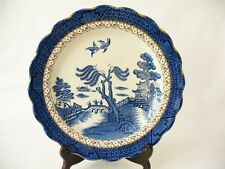 Booths  Blue & White  Plate - Willow Pattern - Chinoiserie Style Booths Plate -