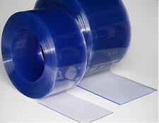 Clear Flexible PVC Strip Curtain Door Roll - 200mm Wide x 2mm Thick x 50m Roll