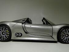 Exótico PORSCHE 911 GT 1 Raro Deporte Coche De Carreras 18 24 Carousel PLATA