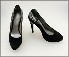 DIZINGOF WOMEN'S HAND MADE DESIGNER HEELS SHOES SIZE 6 AUST MARKED 37 EUR