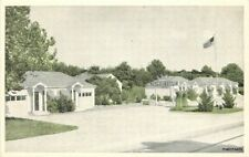 1930s Cape Girardeau Missouri Sunset Tourist Court Roadside postcard 10645