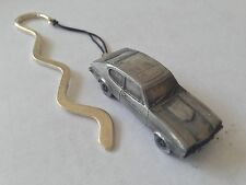 Ford Capri Mk2 ref73  FULL CAR on a CURVED bookmark with cord