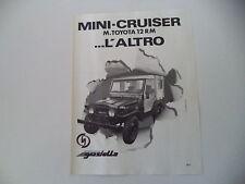 advertising Pubblicità 1980 DELTA MINI CRUISER