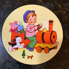 Vtg. HUNTLEY & PALMERS Iced Biscuits For Children Tin- Mabel Lucie Attwell