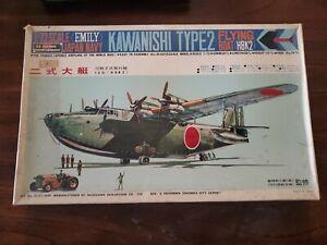 Hasegawa 1:72 Scale Kawanishi Type-2 Emily Flying Boat Japanese Navy Model Kit