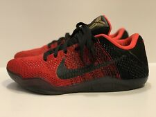 sale retailer e36cc 985ad 822675-670 Nike Men Kobe XI Elite Low - Achilles Heel University Red Black  8.5