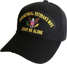 DYSFUNCTIONAL VETERAN'S WIFE HAT - BLACK