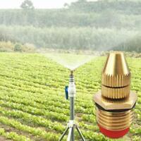 Garten Sprinkler Bewässerung Einstellbare Zerstäubung Messing Sprühdüse