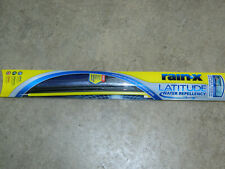 "RAIN-X LATITUDE BLACK 17"" REPLACEMENT WINDSHIELD WIPER BLADE"